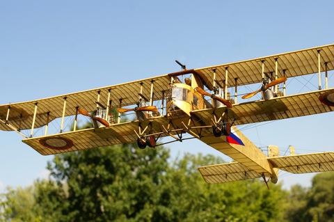 Модель самолета Илья Муромец 1914-1919гг (М1:32)