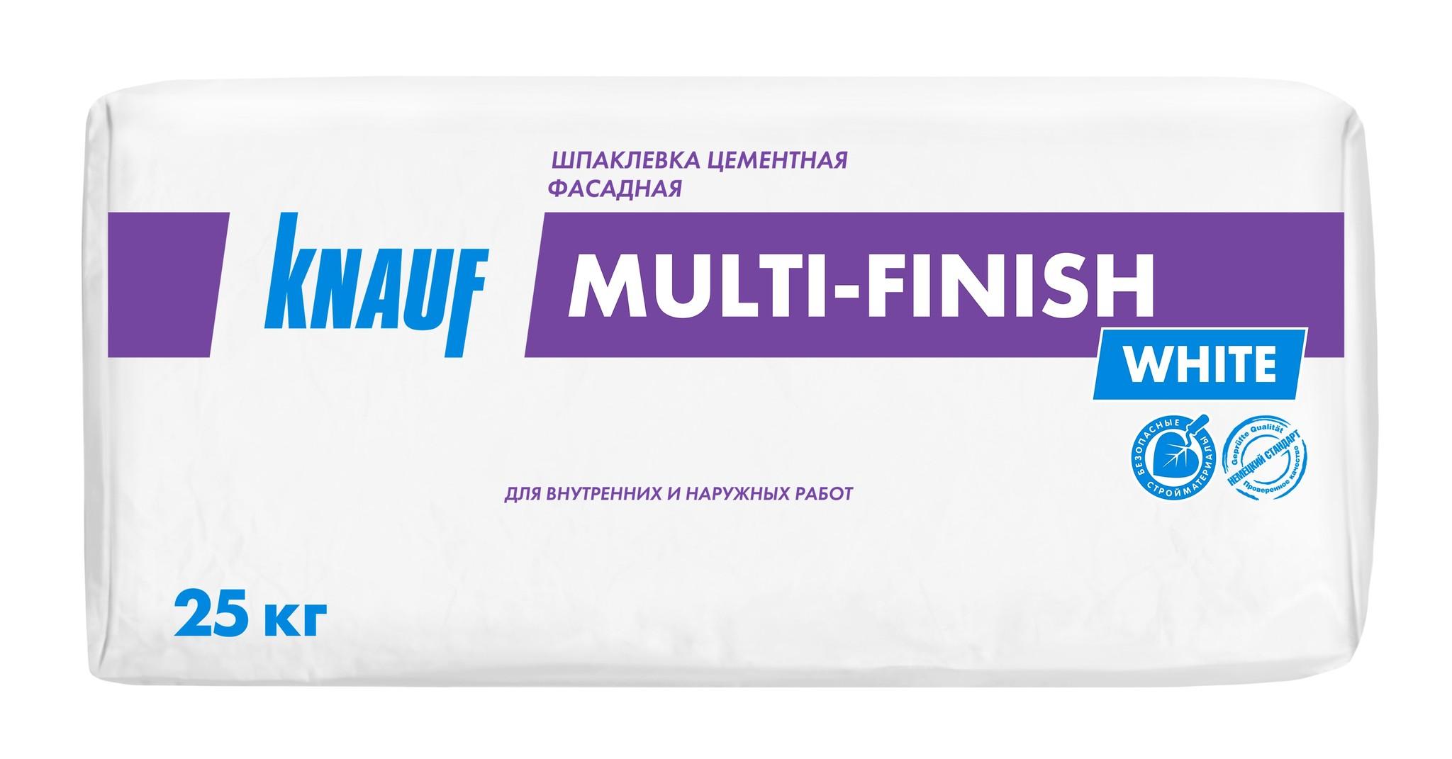 Шпаклевки Шпаклёвка Knauf Мульти-Финиш цементная финишная белая, 25 кг ab504aae14ec484fb3d07670e1822a8a.jpg