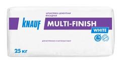 Шпаклёвка Knauf Мульти-Финиш цементная финишная белая, 25 кг