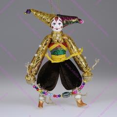 Ёлочная игрушка клоун Скоморох
