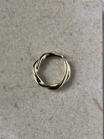 Кольцо Катрин, позолота