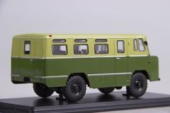 GAZ-66 AC-38 Army Bus khaki-green-light 1:43 Start Scale Models (SSM)