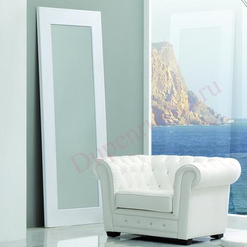 Зеркало DUPEN Е-97 белое
