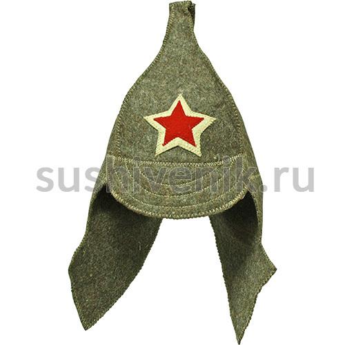 Шапка для бани Буденовка