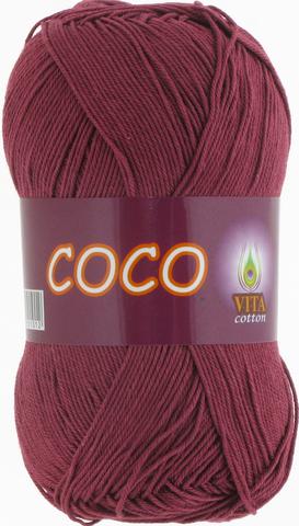 Пряжа Vita Coco 4325 светлая вишня