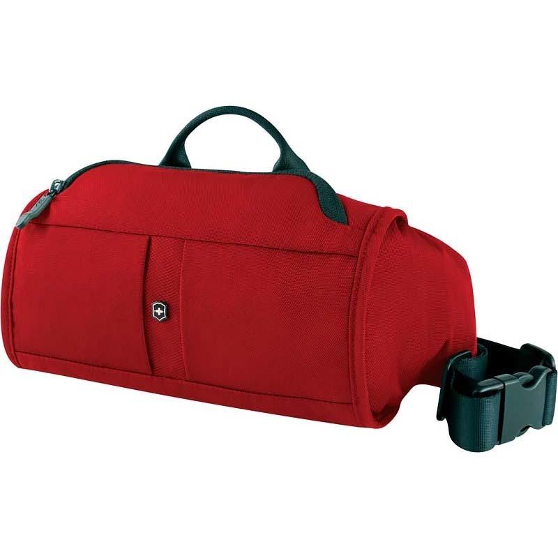 Сумка на пояс VICTORINOX Lumbar Pack, с системой защиты RFID, красный, нейлон 800D, 27x7x15 см, 3 л (31174103) | Wenger-Victorinox.Ru