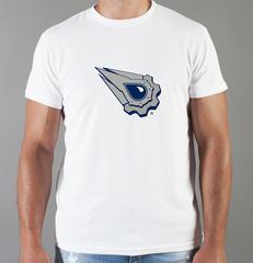 Футболка с принтом НХЛ Эдмонтон Ойлерз (NHL Edmonton Oilers) белая 002