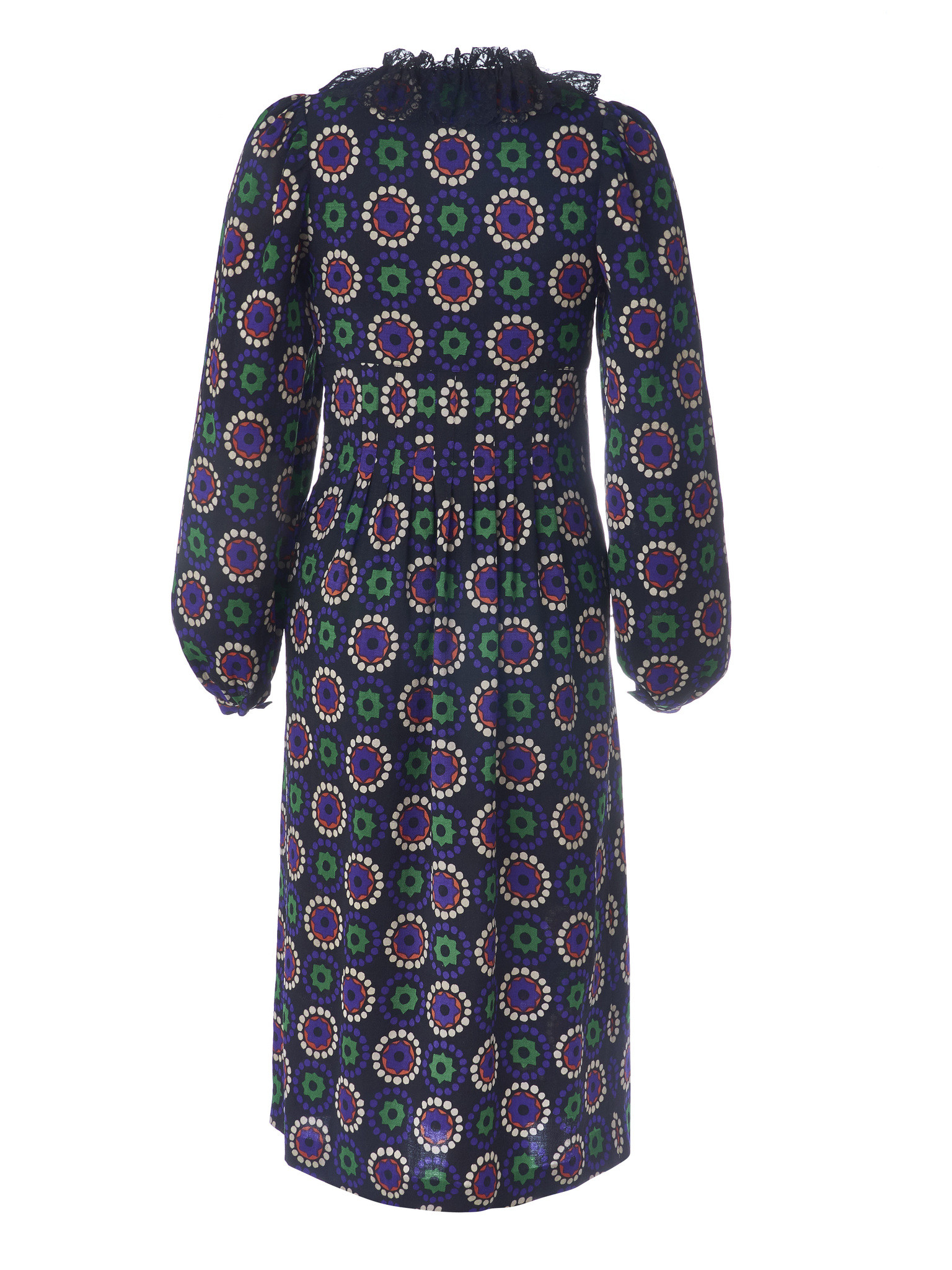 Очаровательное платье YSL из тонкой шерсти на подкладе 1970-е