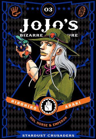 JoJo's Bizarre Adventure: Part 3 - Stardust Crusaders Vol.3 (На Английском языке)