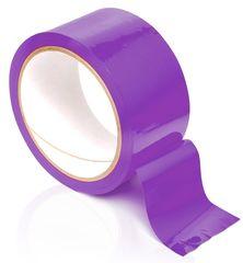 Фиолетовая самоклеящаяся лента для связывания Pleasure Tape - 10,6 м.