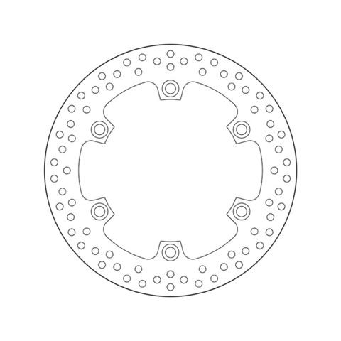 Тормозной диск BREMBO 68B407A6 для мотоцикла HONDA CB, CBR