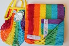 Слинг-шарф, Filt, Fil'Up, радуга, (с сумкой), S,M,L,XL /Т1 (S-M)/