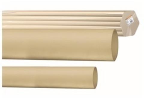 Труба гладкая жесткая ПВХ d 25 (74 м) длина 2 м индивид. штрихкод,
