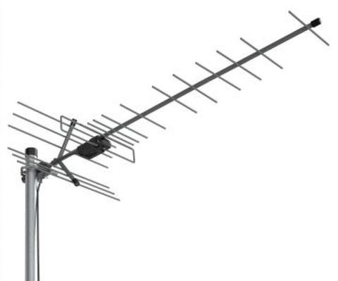 ТВ антенна активная 5V Locus Эфир-18AF Turbo (L035.18DT) цифровая DVB-T2 на 35-55 км