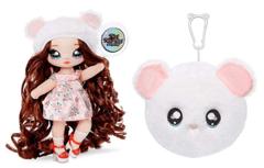 Кукла Na! Na! Na! Surprise Misha Mouse белый медвежонок (дуга) 2 серия