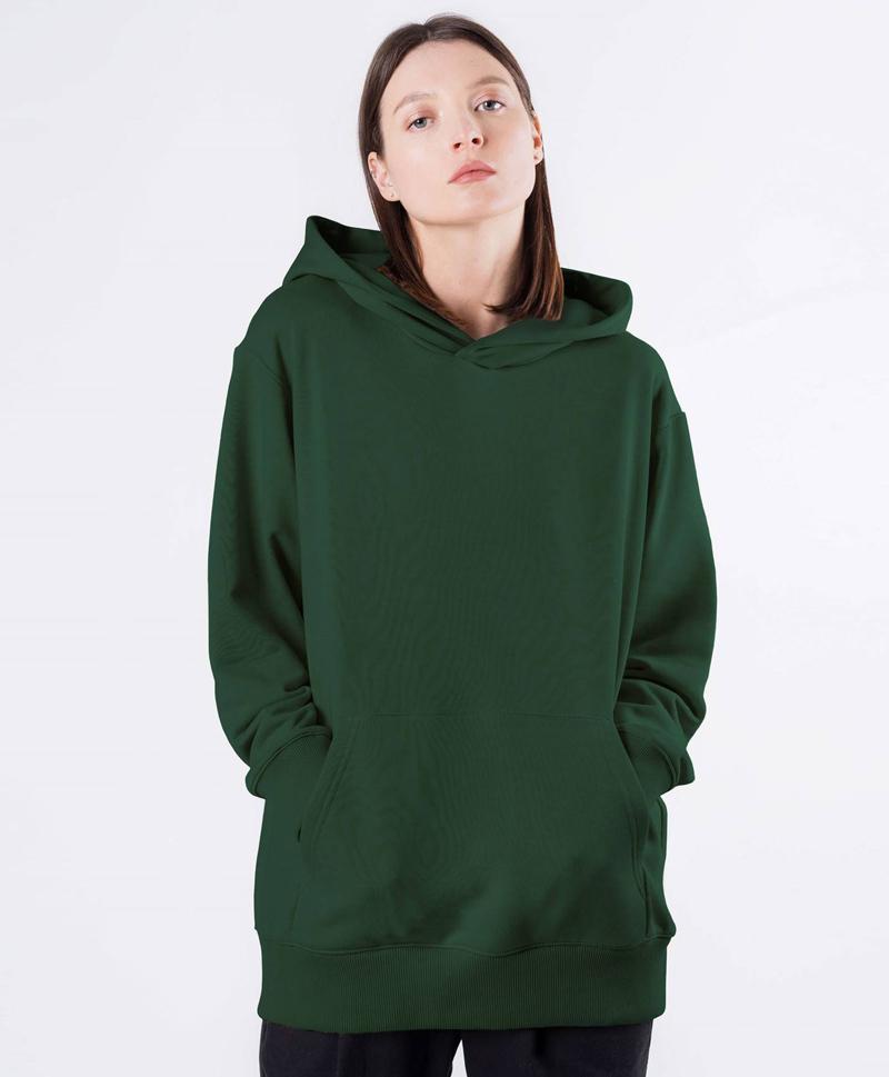 зеленое-худи