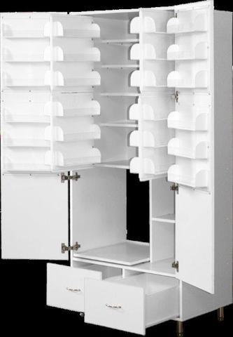 Шкаф медицинский для фармпрепаратов ШМФ-01  (мод.9) - фото