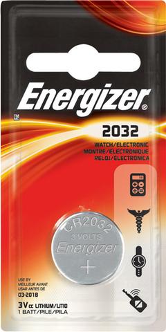 Батарейки Energizer CR 2032, 3V, 1 BL
