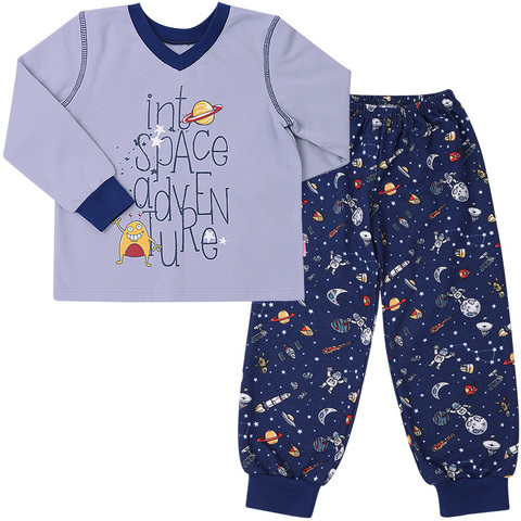 ПЖ41 Пижама для мальчика байка