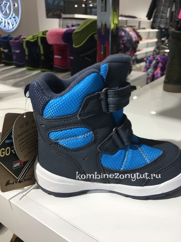 VIKING Toasty II GTX  зимние ботинки для мальчика Викинг