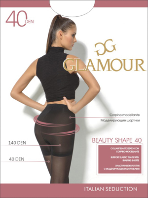 Колготки Glamour Beauty Shape 40