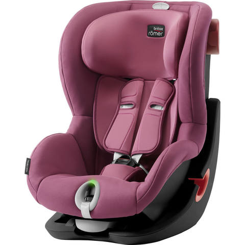 Автокресло Britax Roemer King II LS Wine Rose