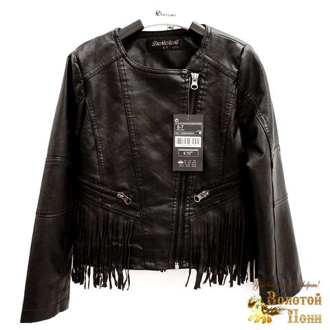 Куртка экокожа девочке (3-11) 200318-W8851.2