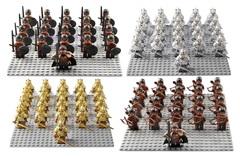 Игра престолов минифигурки Войско набор 21 шт серия 394