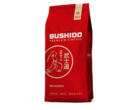 купить Кофе молотый Bushido Red Katana, 227 г