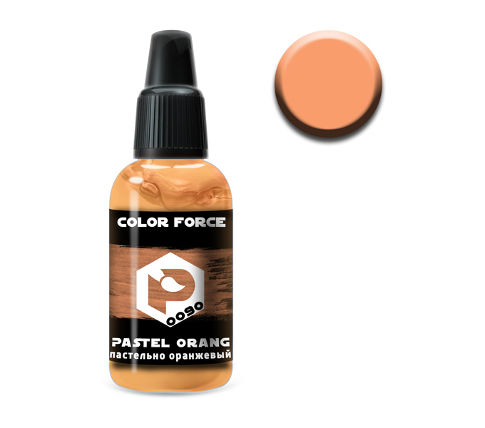 Pacific 88  AERO P-0090 Пастельно-оранжевый (Pastel orange) укрывистый, 18мл 0090.jpg