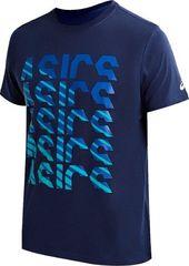 Футболка беговая Asics GPX Fade Tee Blue мужская