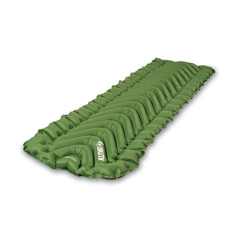 Надувной коврик Klymit Static V Long, зеленый