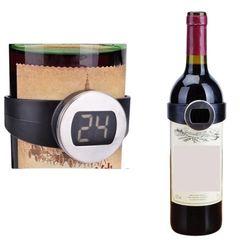 Электронный термометр-браслет на бутылку вина Sun Way   Easy-cup.ru