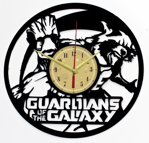 Стражи Галактики Часы из Пластинки
