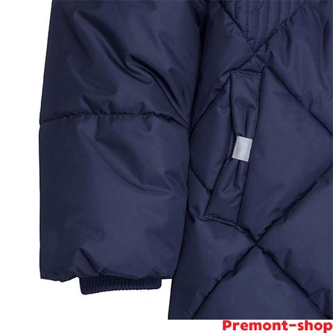 Пальто Premont синее Флоранс для девочки WP81402