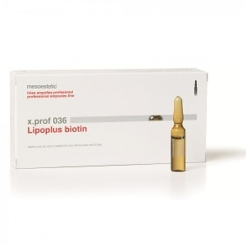 *Мезотерапевтический препарат Биотин (MESOESTETIC/BIOTIN/x.prof 036/амп2мл/B6X0918)