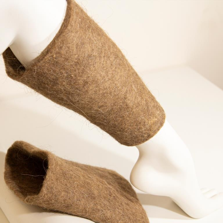 Наколенники лечебные согревающие из верблюжьей шерсти