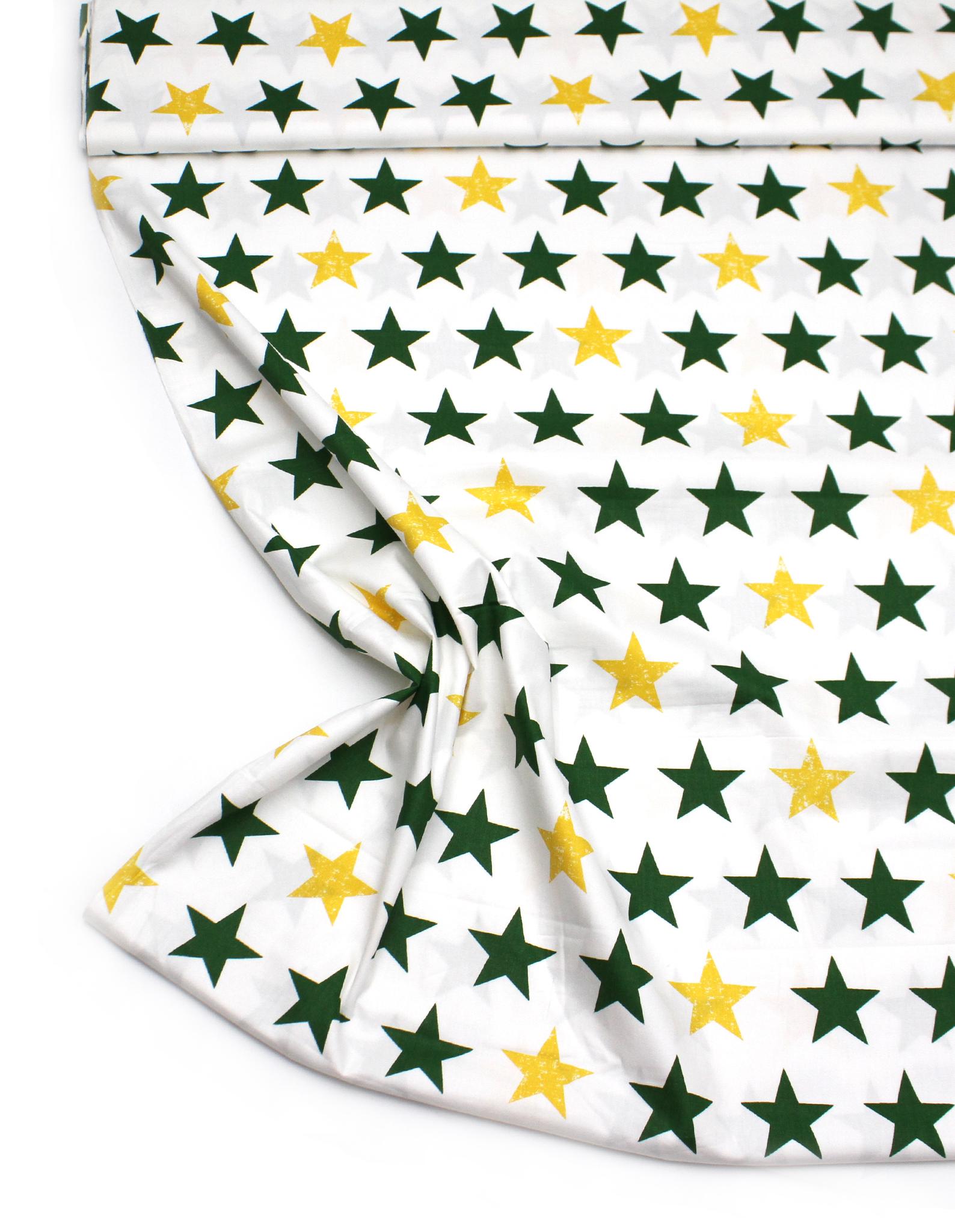Звезды желто-зеленые
