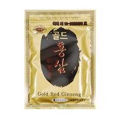 Gold red ginseng