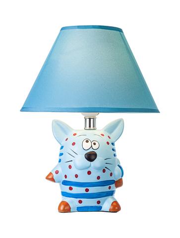Настольный светильник Escada 10181/L E27*60W Blue cat