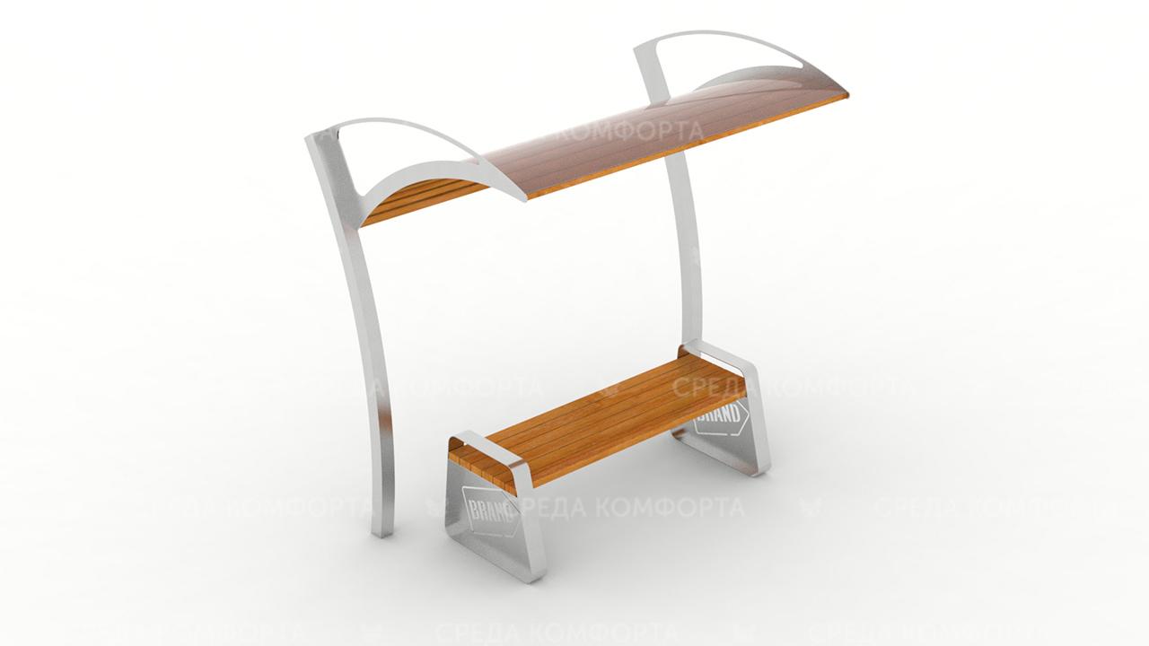 Скамейка с навесом SCAM0122
