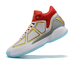 adidas D Rose 10 'White/Gold/Red'