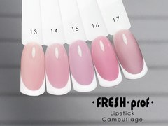 Гель-лак Fresh Prof 10 мл Lip Stick Comouflage 16