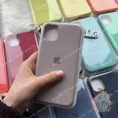 iPhone 11 Pro Silicone Case Full /lavender/