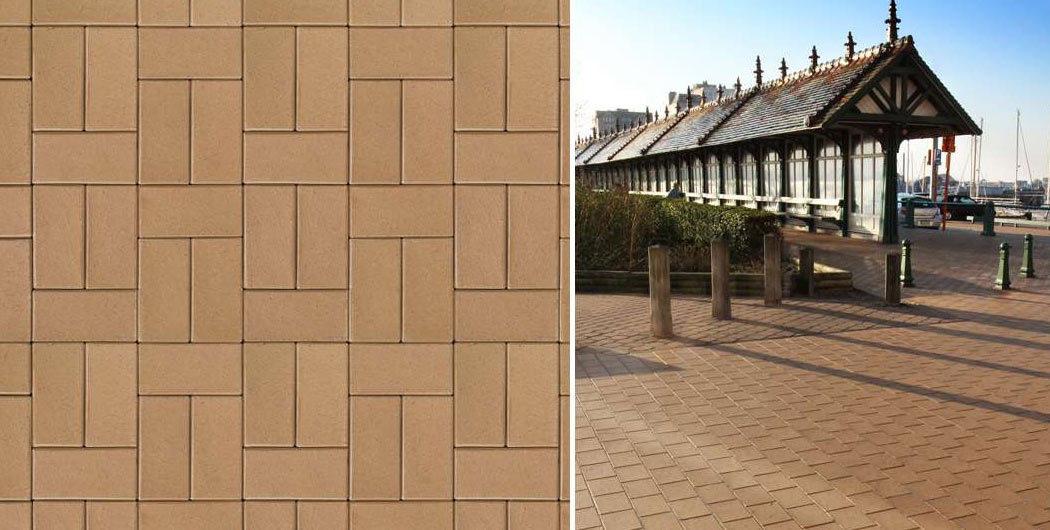 ABC Lederfarben-nuanciert, 200x100x52 - Тротуарная клинкерная брусчатка
