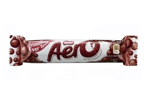 Шоколадный батончик Aero Milk