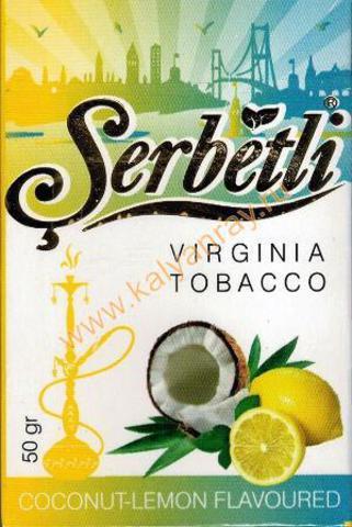 Serbetli Coconut Lemon