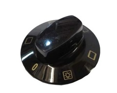 Ручка режимов духовки, черная, Gorenje, ASKO 650157