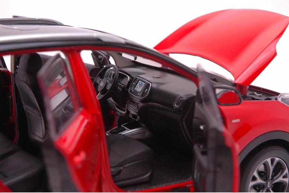 Коллекционная модель KIA SPORTAGE (KX3) 2015 RED