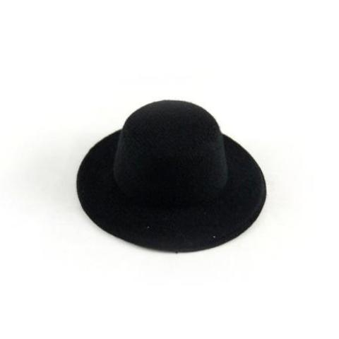 Шляпа  для игрушек черная 5.5см